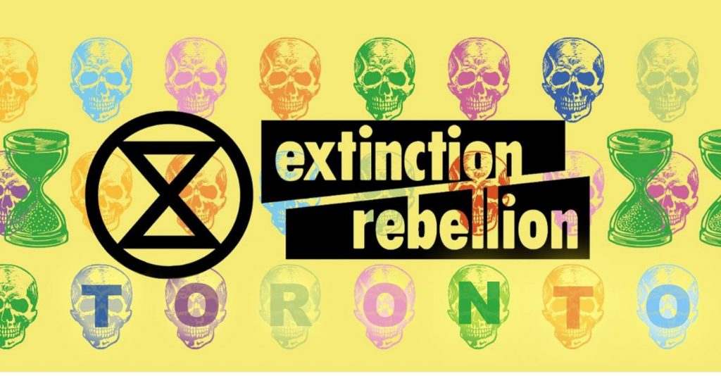 Extincition Rebellion Toronto